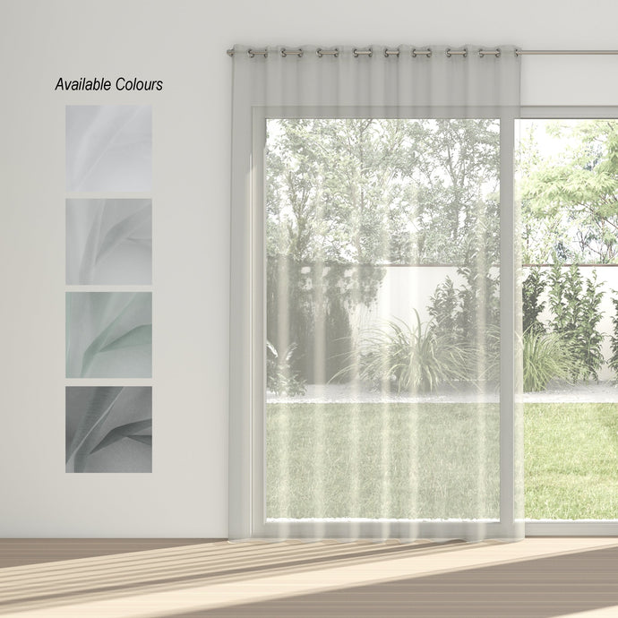 Aerial Eyelet Curtain (Unlined Sheer)
