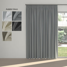 Night Time Taped Curtain (Partial Blockout)