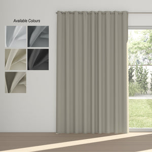 Night Time Eyelet Curtain (Partial Blockout)