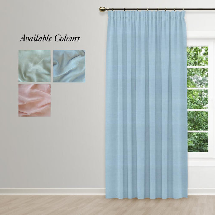 Muslin Taped Curtain