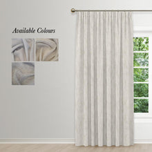 Whimsical Taped Curtain
