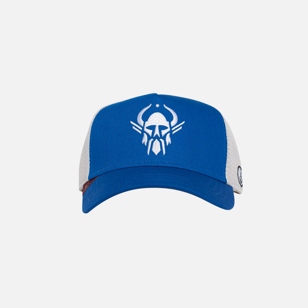 Gorra Trucker Humanity Viking Bleu Azure Bright Royal