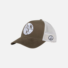 Gorra Trucker Black Anchor Legacy Brushed Olive
