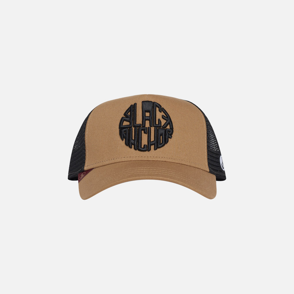Gorra Trucker Black Anchor Legacy Gold Gold