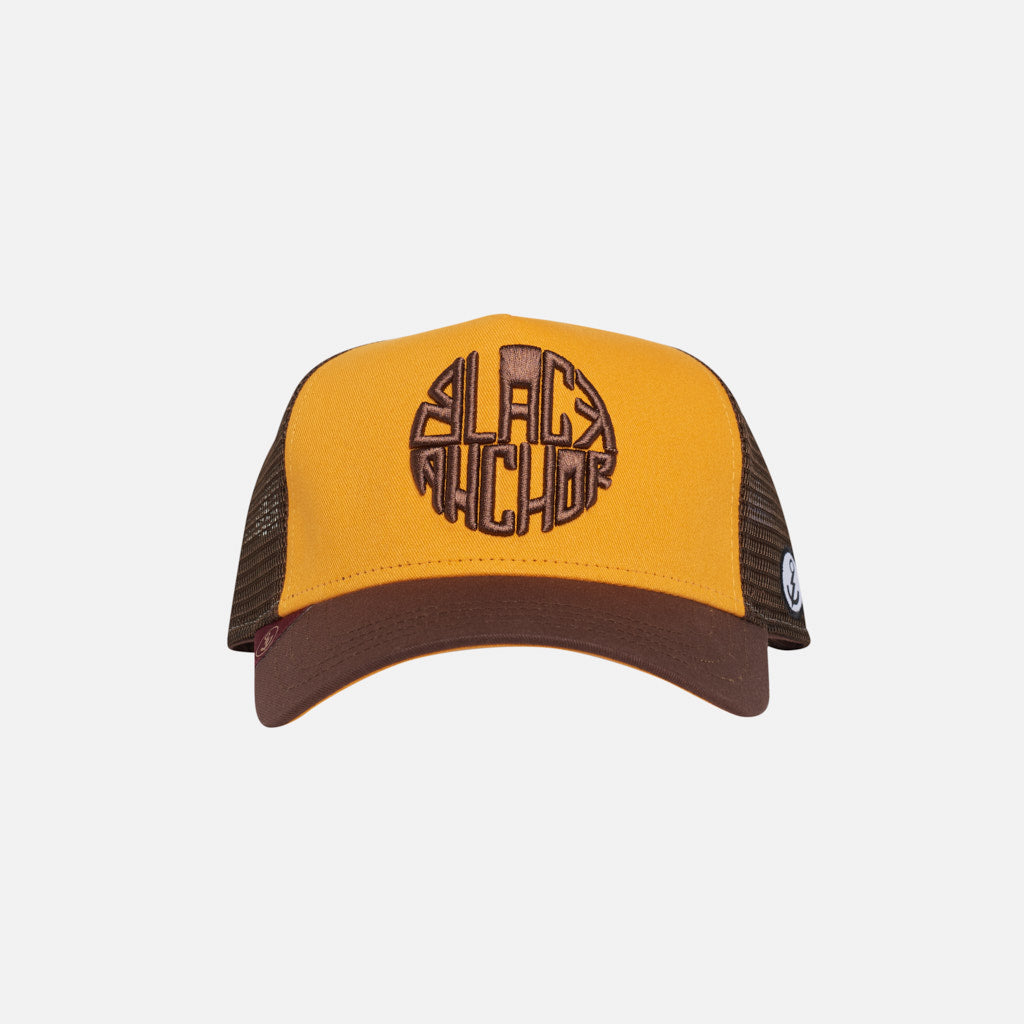 Gorra Trucker Black Anchor Legacy Rgold Brown