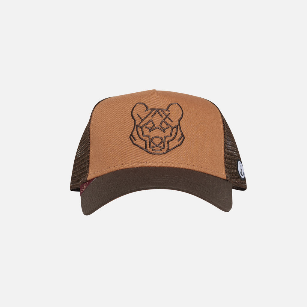 Gorra Trucker Animal Oso Wheat Walnut