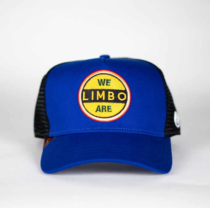 Gorra trucker azul My Black Anchor Limbo frontal