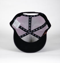 Gorra trucker negra My Black Anchor Black Anchor detalle