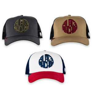 Pack 1 Gorras Trucker Black Anchor