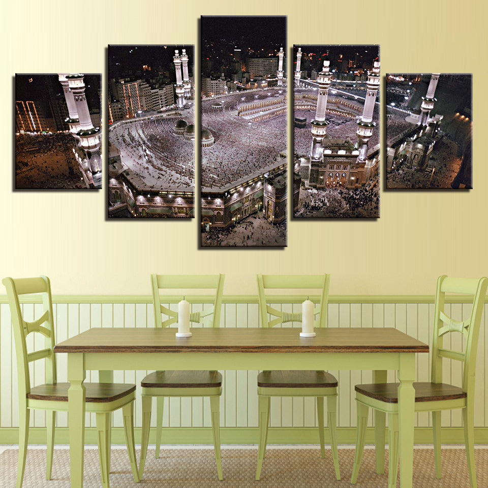 Canvas Cuadros Islam Night View Modern Frames For Paintings Home ...
