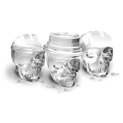 Cool Silicone Skull Trio Ice Molds