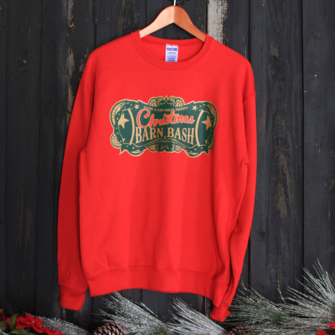 Christmas Barn Bash Sweatshirts
