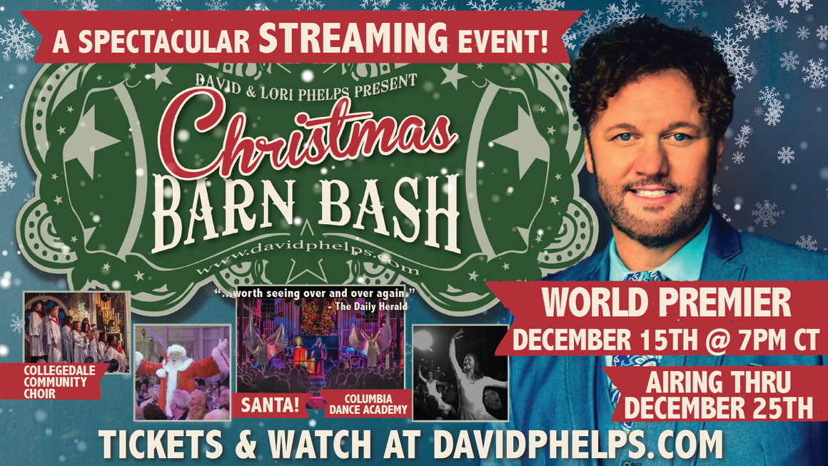 Christmas Barn Bash -- A Spectacular Streaming Event Ticket