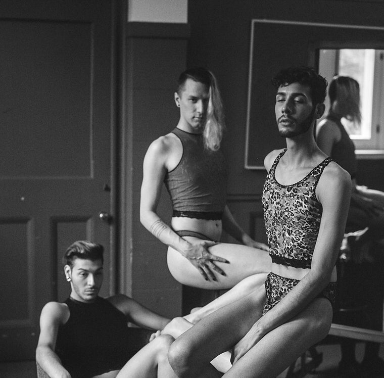 b&w queers serious - soeursoeur - Wicked mmm shoot 2016
