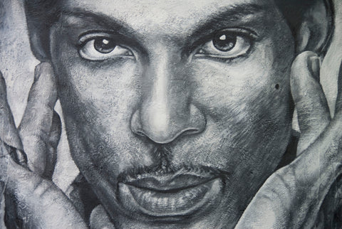 Prince Painted Portrait; thierry ehrmann