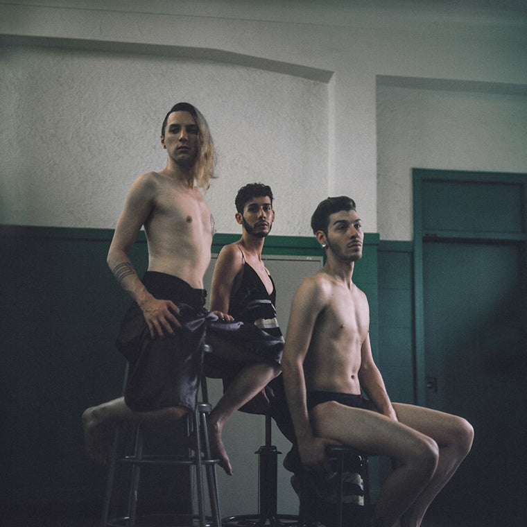 Queer boys sitting - soeursoeur - Wicked mmm shoot 2016