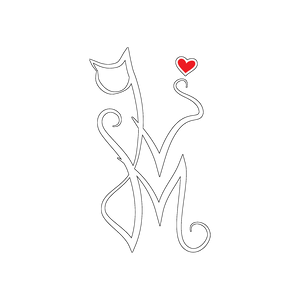 Wicked Mmm logo - White