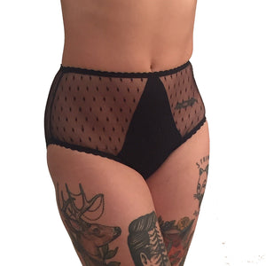Tiny Diamonds high waist briefs