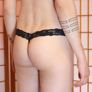 Dream Lace G-string back