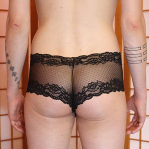 See through Hip-Hugger panties for men