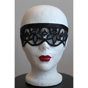 Lace see through Mask
