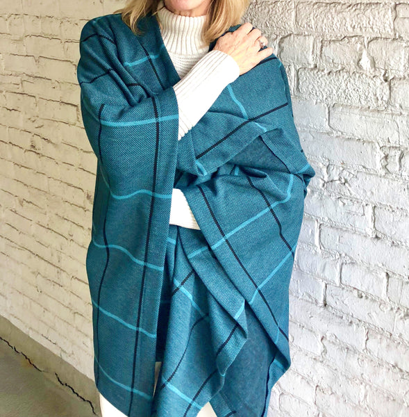 Kenna- Windowpane Wrap