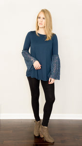 Luxurious Lace Long Sleeve