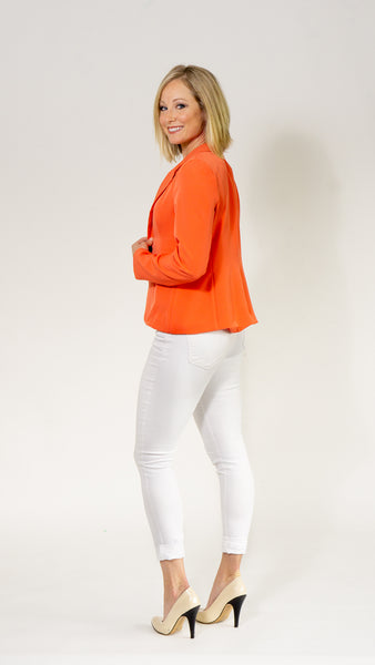 Anita Rose Blazer- Orange