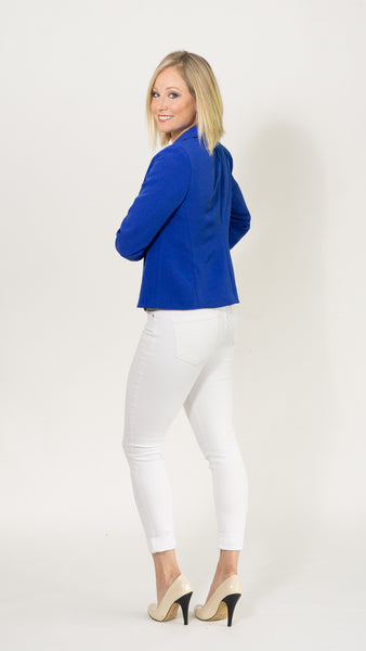 Anita Rose Blazer- Royal Blue