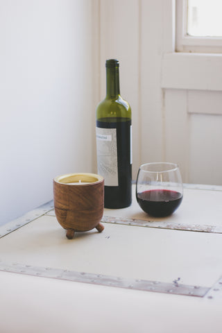 Malbec Barrel Aged Candle