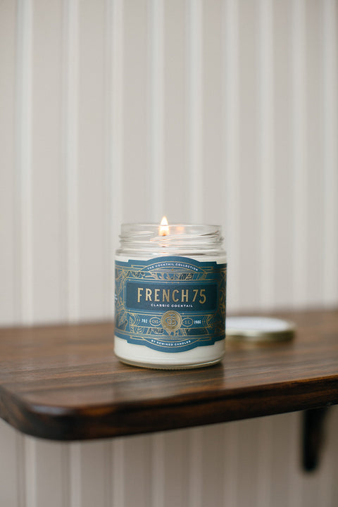 French 75 Candle - small **TESTER**