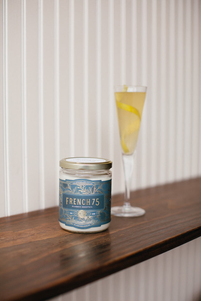 French 75 Candle - large **TESTER**