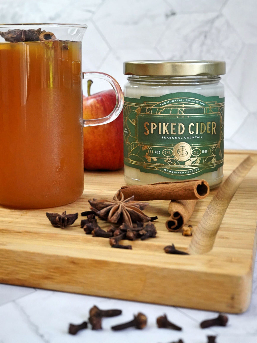 Spiked Cider Candle - large