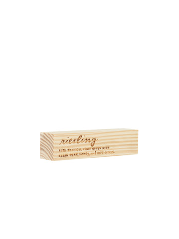 Engraved Riesling Block