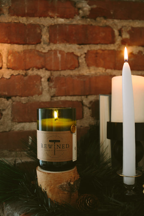 Wine Under The Tree Candle