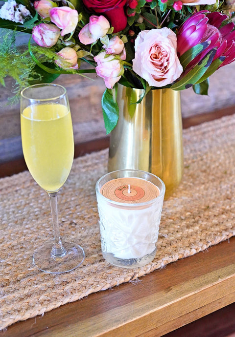 Mimosa Vintage Inspired Candle (9 oz)