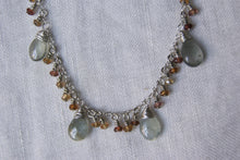 Load image into Gallery viewer, Labradorite Tourmaline Necklace