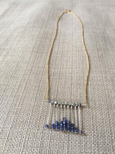Load image into Gallery viewer, Sapphire Abacus Necklace