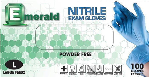 Nitrile Exam Gloves-Powder Free
