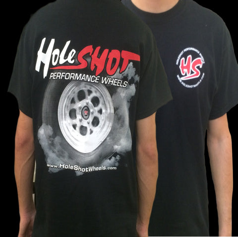 Holeshot Burnout T-shirt - Black