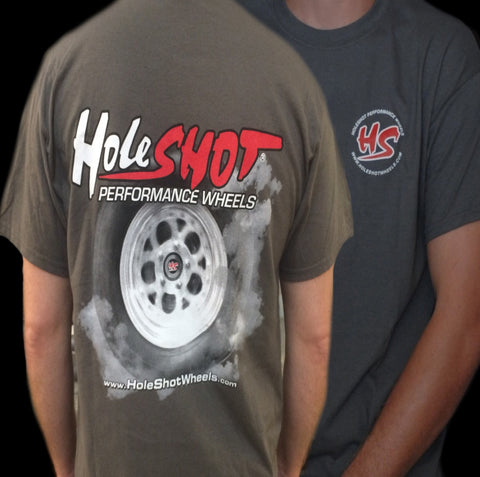 Holeshot Burnout T-shirt - Grey
