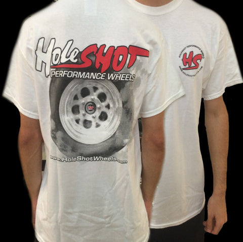 Holeshot Burnout T-shirt - White