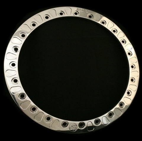 "16"" HS-2 Beadlock Outer Ring Only (Polished or anodized)"