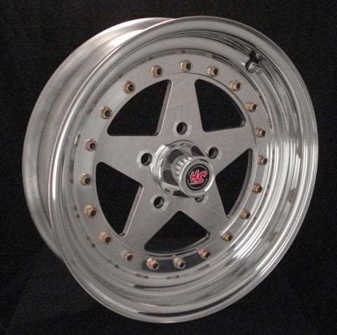 "15"" Holestar 3-PC Wheel"