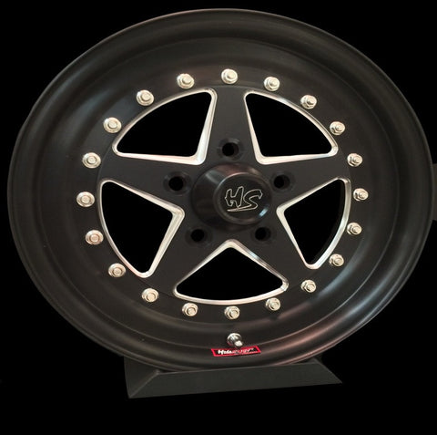 "15"" Holestar Signature Series 3-PC Wheel"