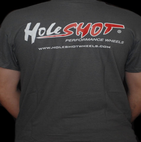 Holeshot T-shirt - Grey