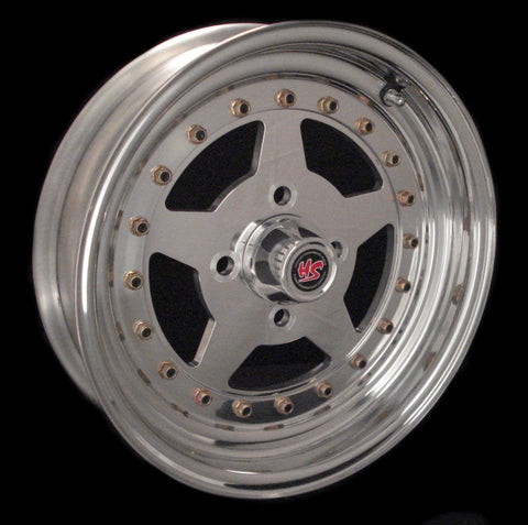 "15"" Modstar 4 Lug 3-PC Wheel"