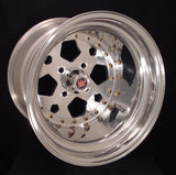 "15"" Pentastar 4 Lug 3-PC Wheel"