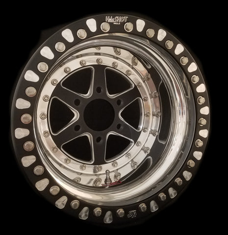 "16"" R3 6 Lug 3-PC Wheel"