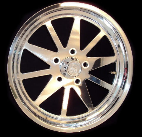"17"" x 4"" Superstar 1-PC Wheel"